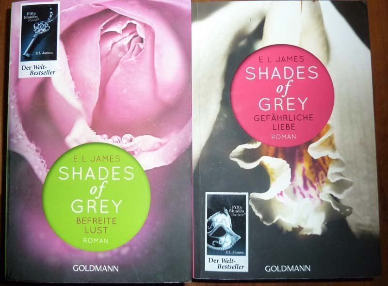 2 Bücher Shades of Grey