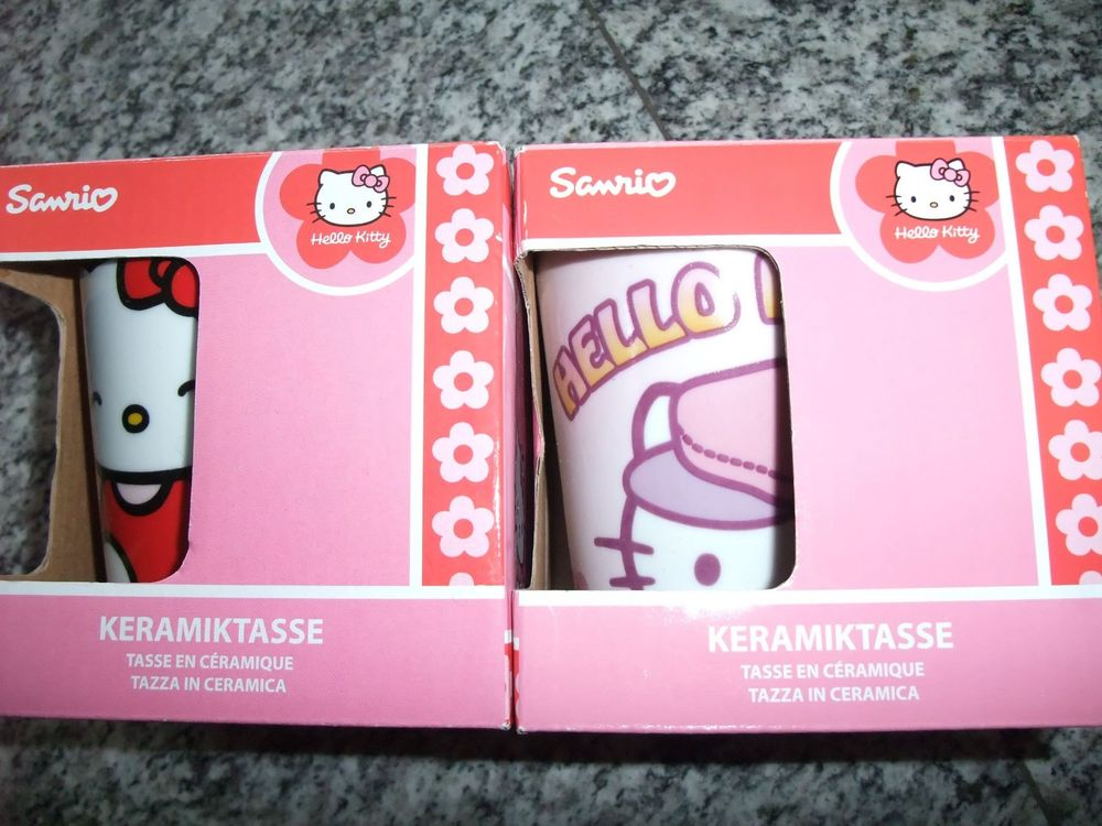 2x Hello Kitty Mug
