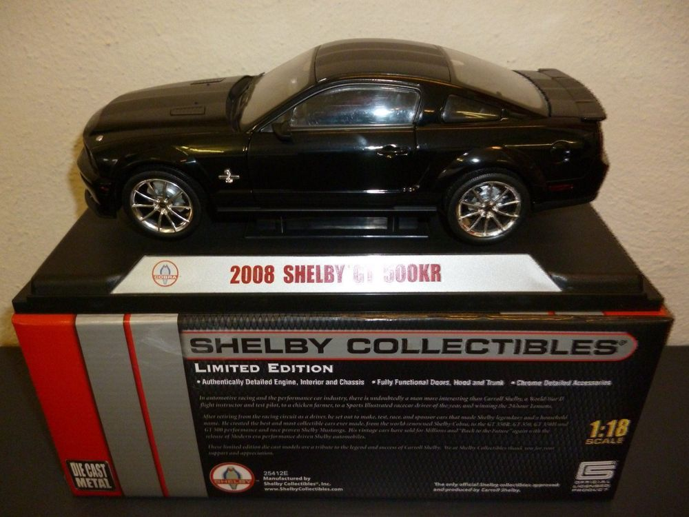 Ford Shelby GT 500 KR 2008 1:18