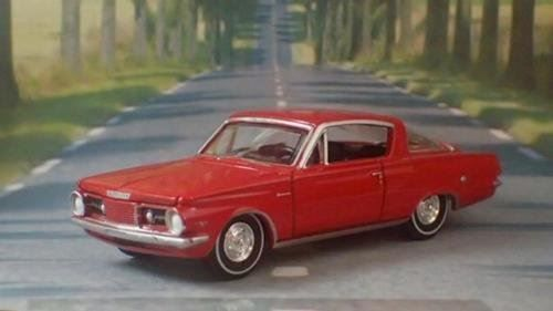 Plymouth Barracuda Hatchback 1964 rot