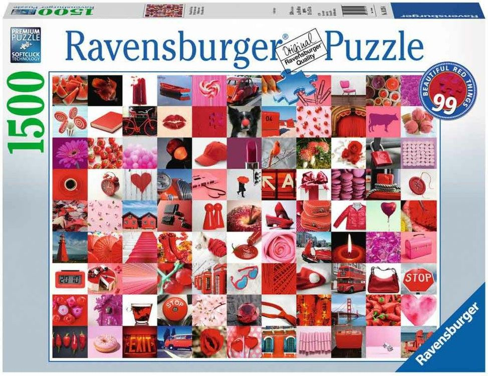 RAVENSBURGER 16215 -99 Beaut. Red Things
