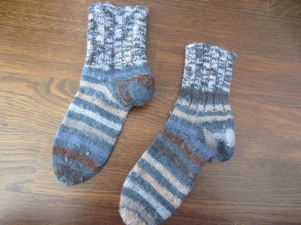 Wollsocken - Kindersocken aus Wolle