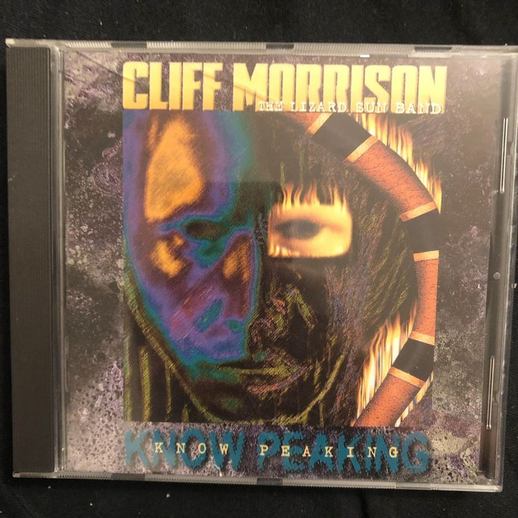 Cliff Morisson - Know Peaking | CD | USA