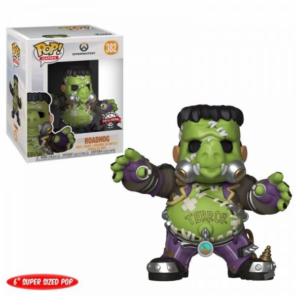 Overwatch Super Sized POP Vinyl Figur Ro
