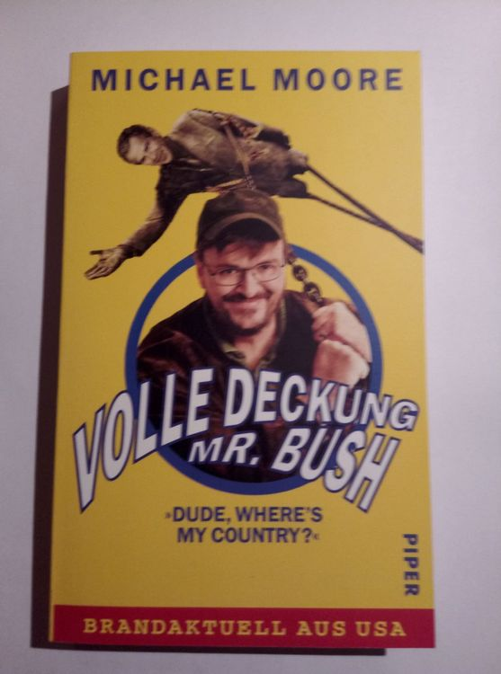 Volle Deckung Mr. Bush