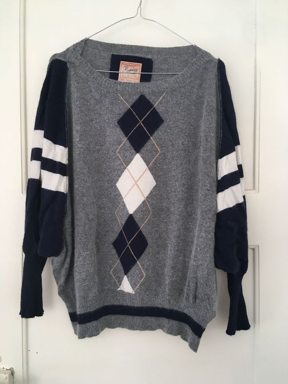 REPLAY Wollpullover