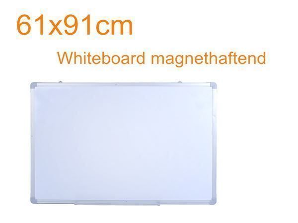2PCS Whiteboard magnethaftend 60x90cm
