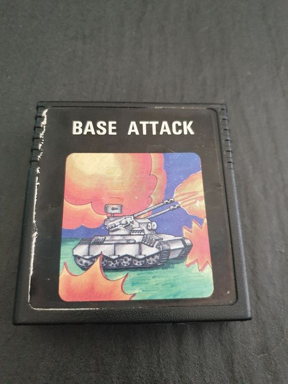 Base Attack ATARI 2600 Spiel Game