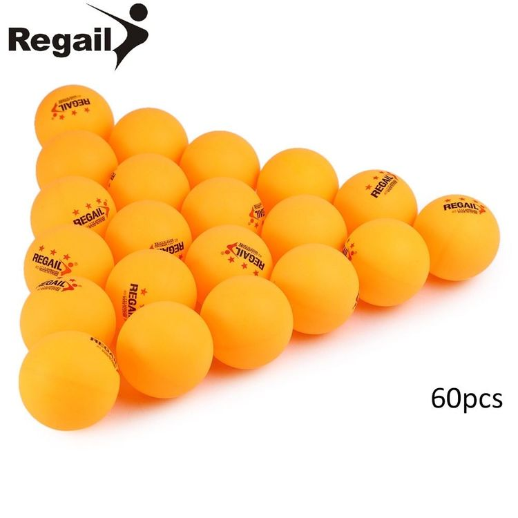 60x Ping Pong Bälle 3 Sterne - 40mm