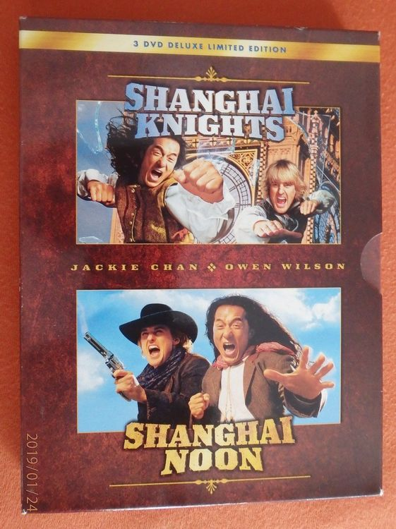 3 DVD's  Shanghai Delux Limited Edition