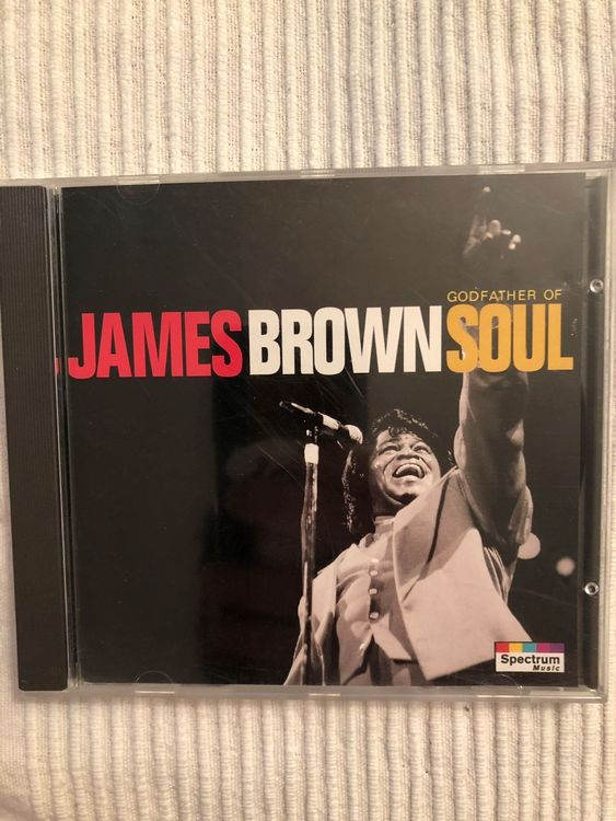 James Brown • Godfather of Soul • CD