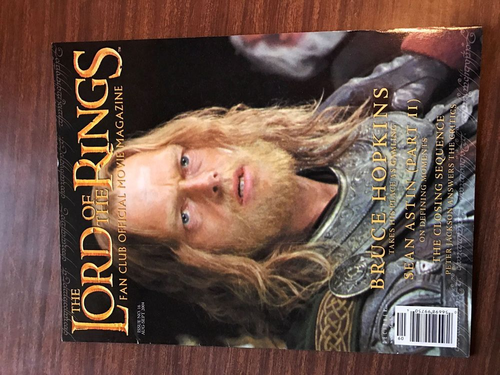 Lord of the Rings Fan Club Magazine