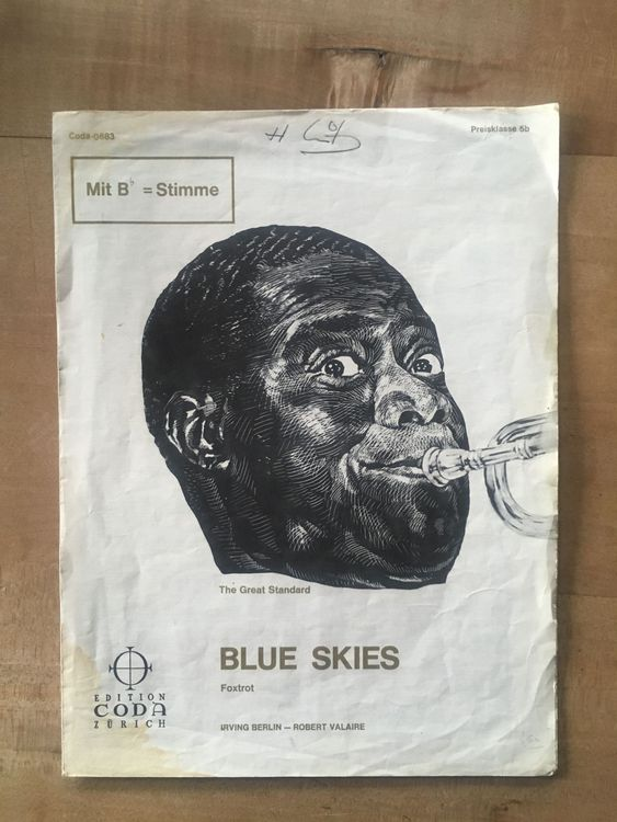 Louis Armstrong - Blue Skies