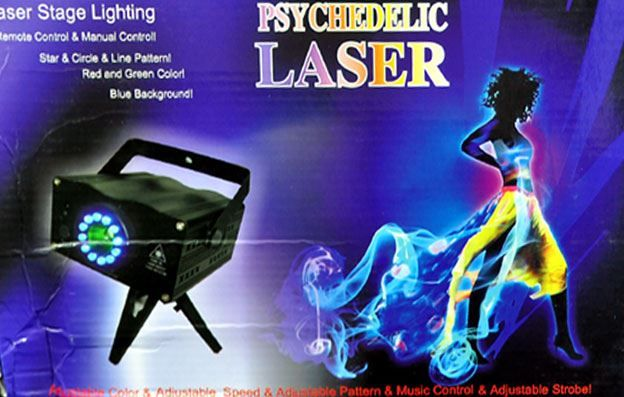 Psychedelic Laser Show