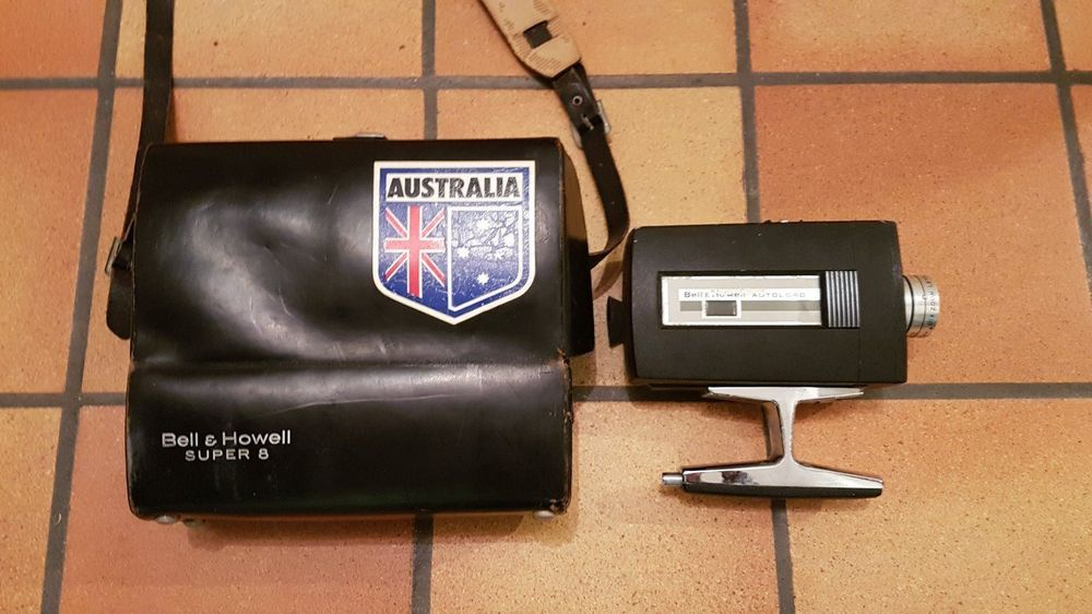 BELL AND HOWELL Optronic Eye Super Eight