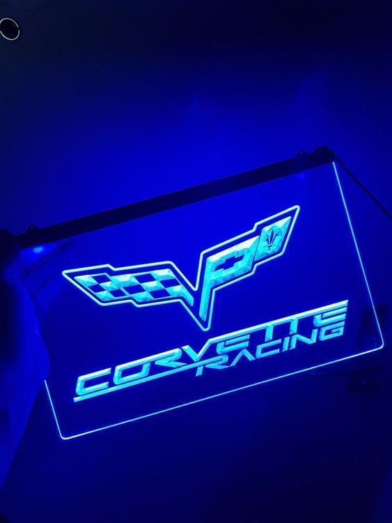 Chevrolet Corvette LED Reklame Schild