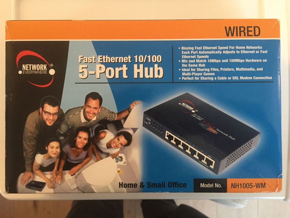 Network - 5 Port Ethernet Hub