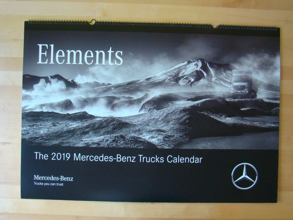 LKW - Kalender Mercedes Elements 2019