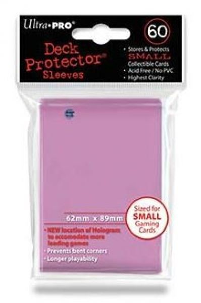 UP - Small Sleeves - Pink (60 Sleeves)
