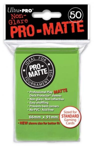 UP - Standard Sleeves - Pro-Matte - Non