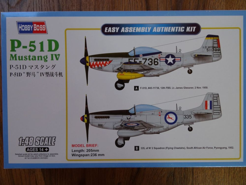 P-51D Mustang IV Fighter