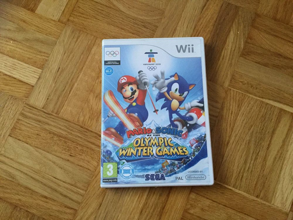 Mario Sonic Olympic Winter Games Wii