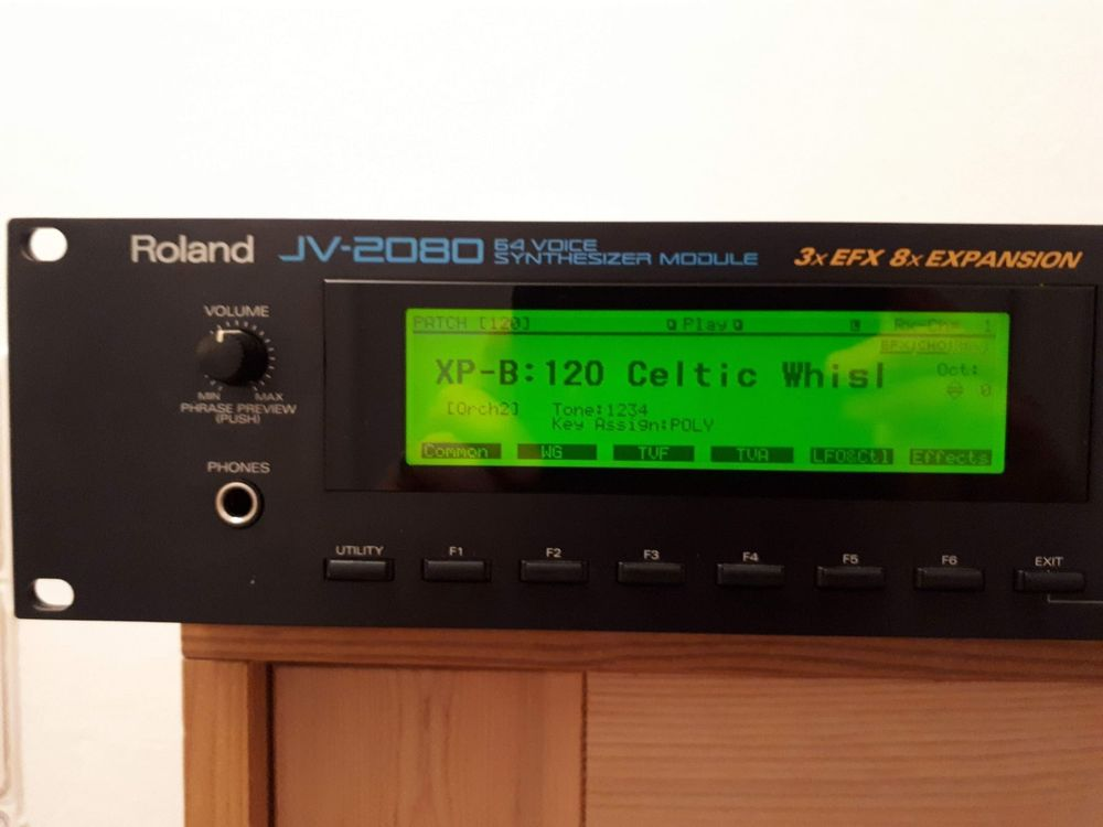 MODUL ROLAND JV-2080 +2X EXPANSION CARDS
