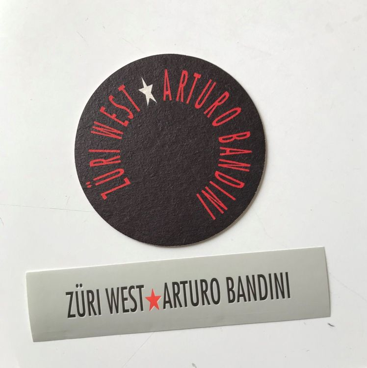ZÜRI WEST , Bierdeckel und Sticker