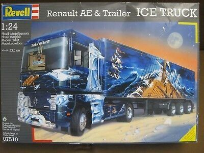 Renault AE + Trailer ICE TRUCK 1/24