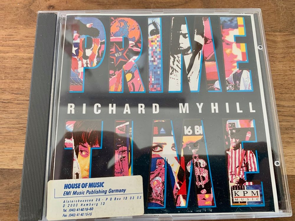 Richard Myhill - Music for the Media