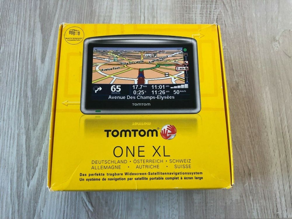 TomTom ONE XL Navigation in OVP!