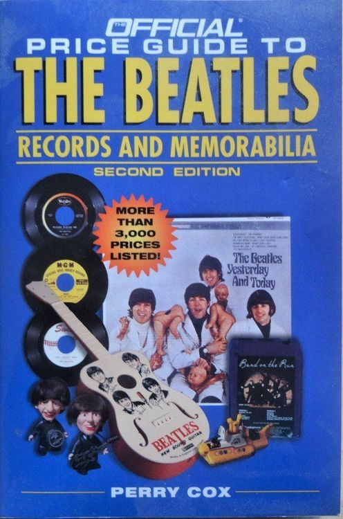 """7"""" BEATLES * Official Price Guide *"""