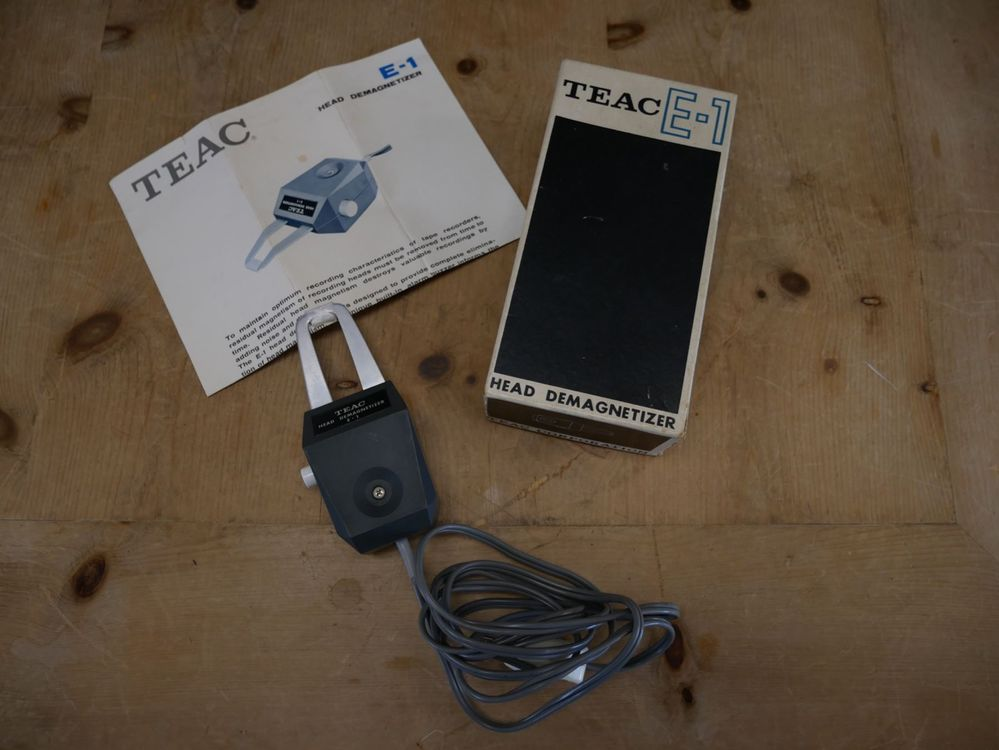 TEAC E-1 Head Demagnetizer