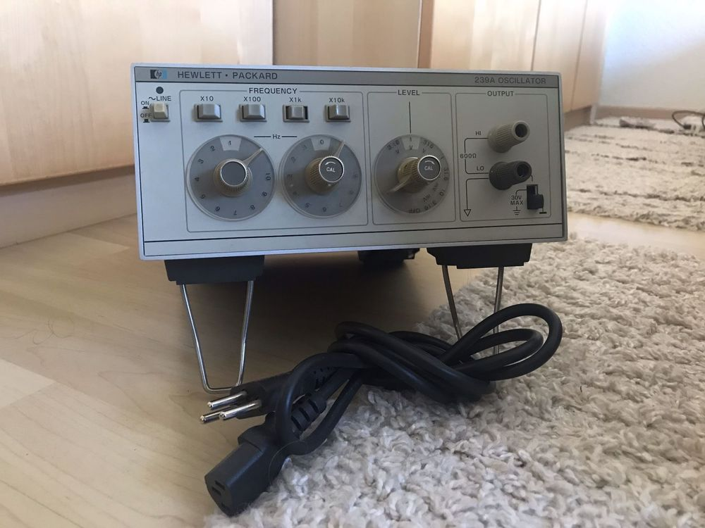 HP 239A Audio Funktionsgenerator