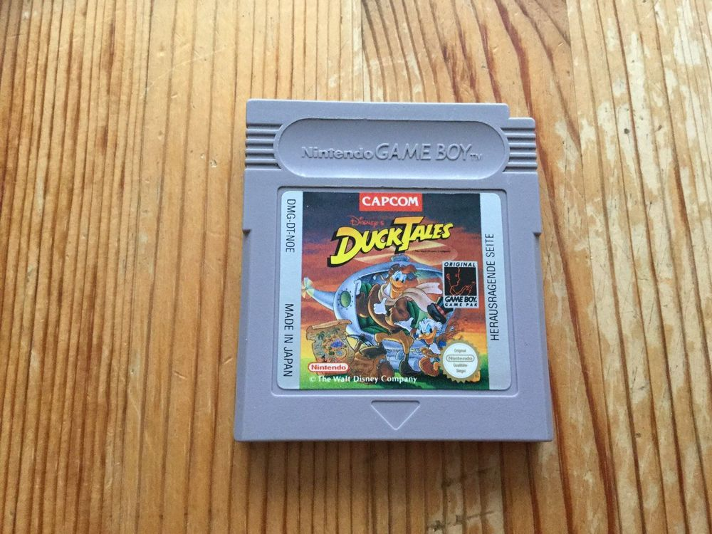 Duck Tales Gameboy