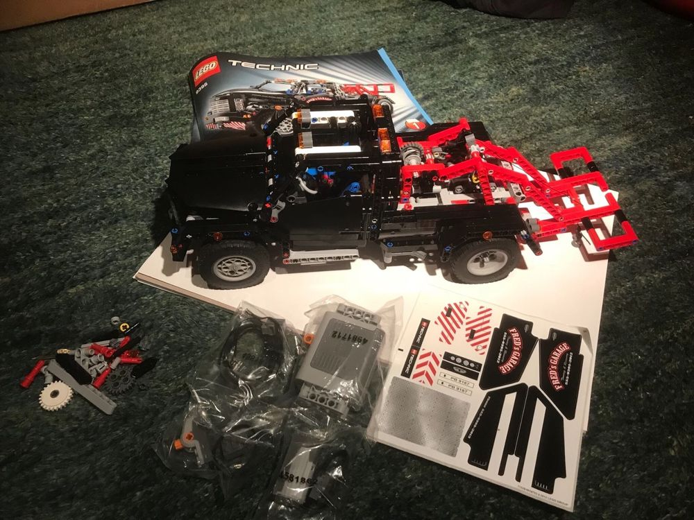 Lego technic 9395 complet
