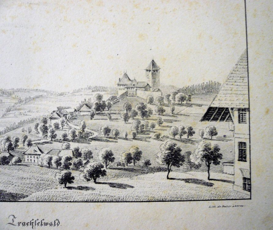TRACHSELWALD, Litho Rieter / Haller Bern