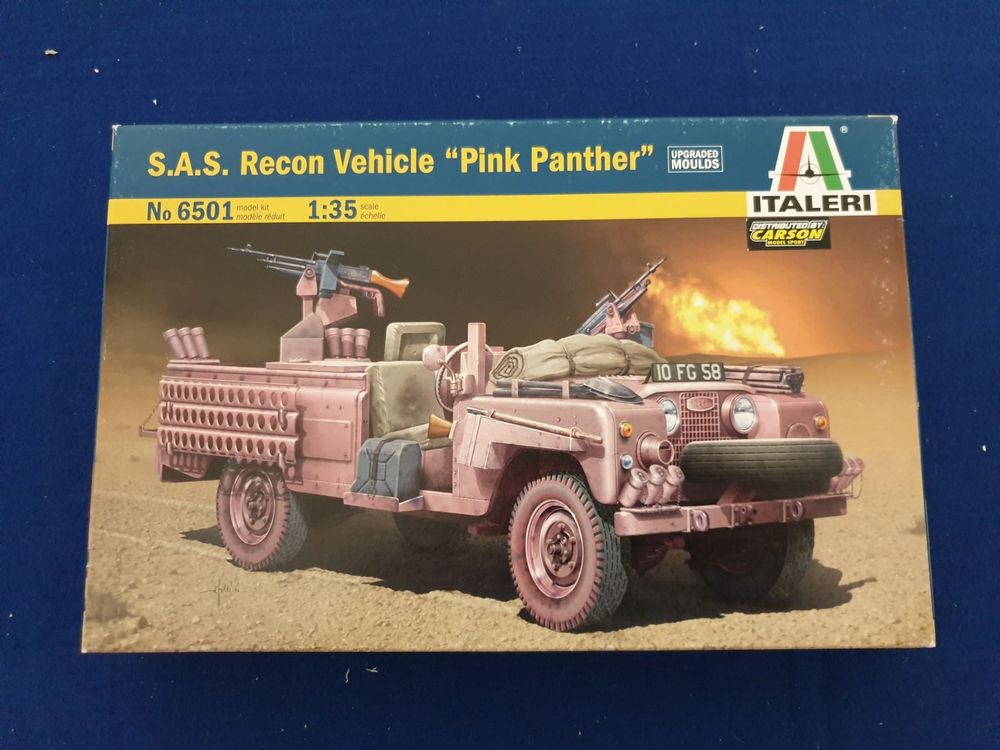 S.A.S. Recon Vehicle LANDROVER