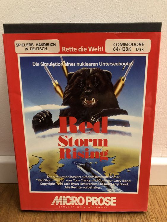 C64 Red Storm Rising - Diskette