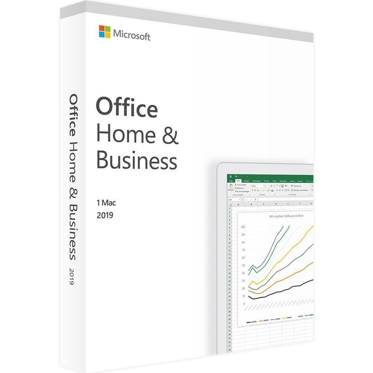 Microsoft Office 2019 Home Business MAC