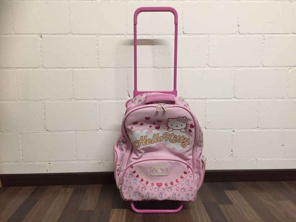 Hello Kitty Rucksack Trolley