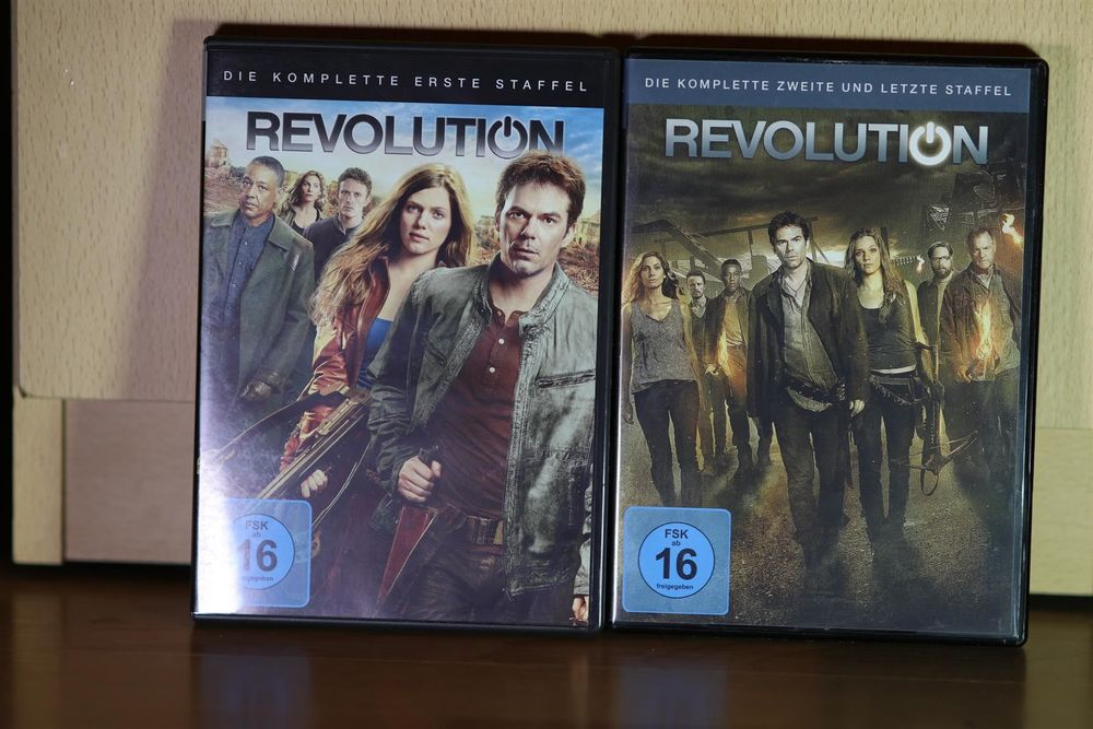 Revolution Staffel 1 + 2 DVD
