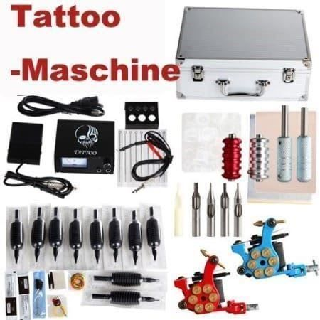 Profi Tattoo Maschine Set Studioqualität