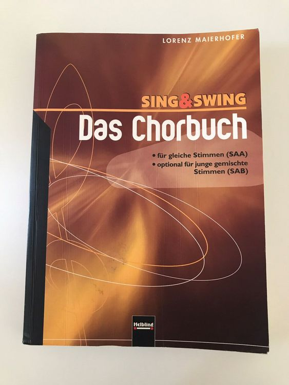 Sing and swing, Chorbuch