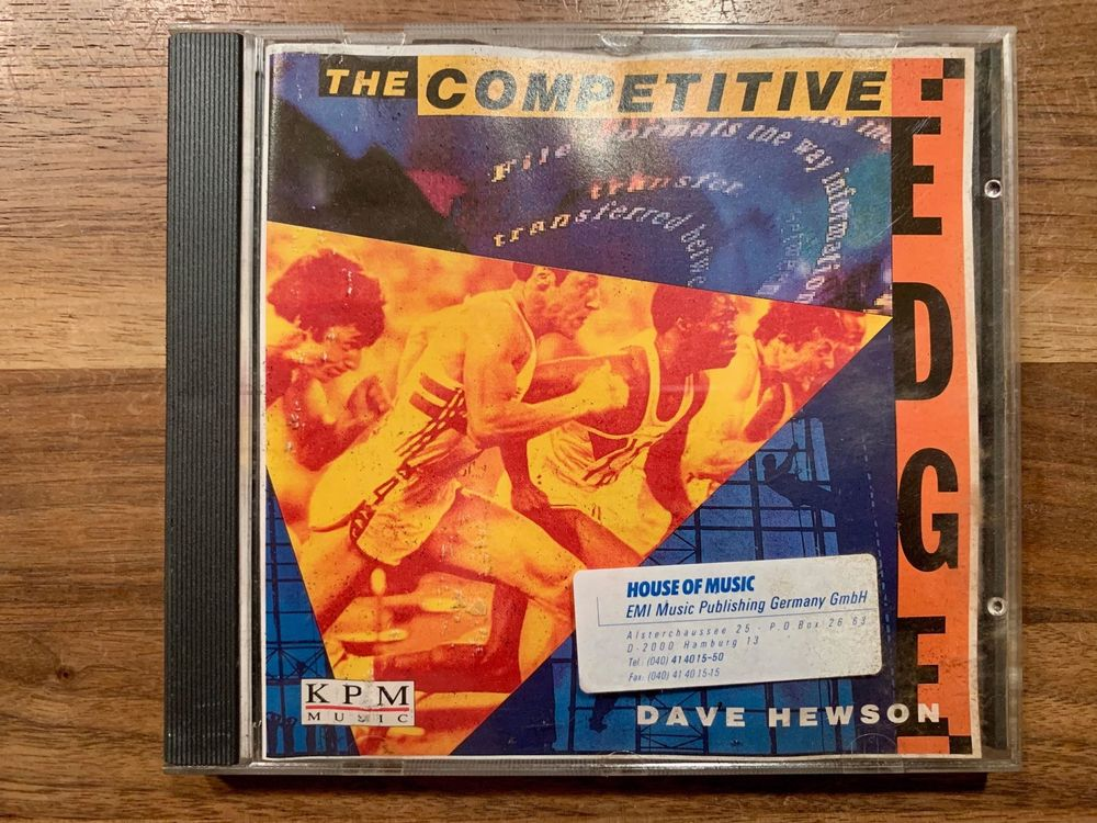 The Competitive Edge - Dave Hewson