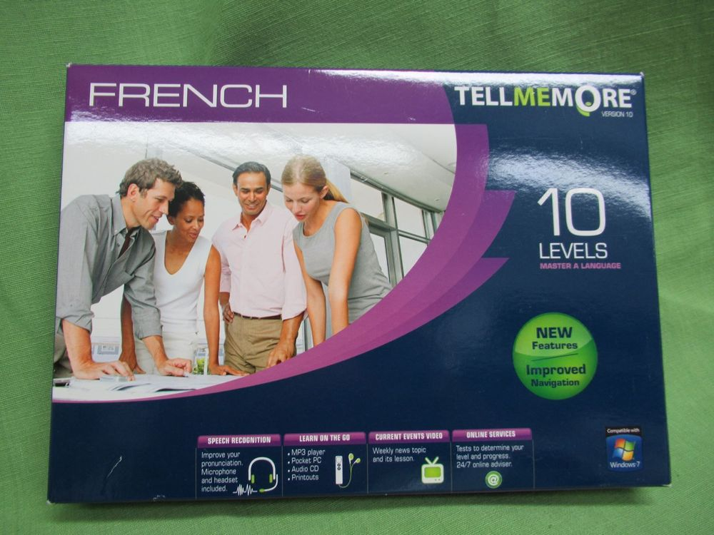 French 10 Levels - Tell Me More