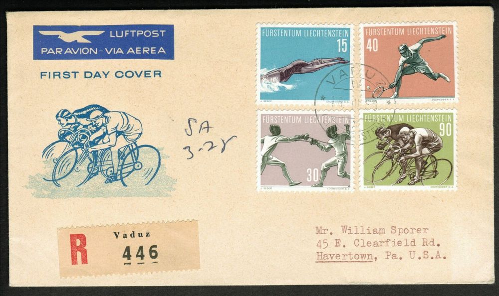 1958, R-FDC in die USA, CHF 80