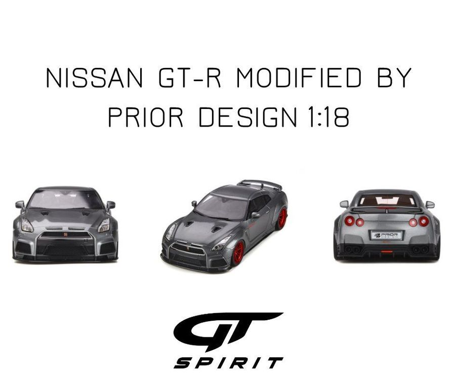 Nissan GT-R By Prior Design 1/18 NEU ltd