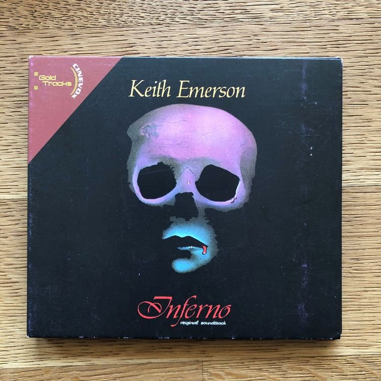 Keith Emerson • inferno • CD • ProgRock