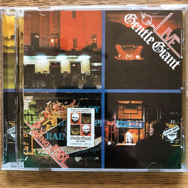 Gentle Giant • Playing the fool • CD